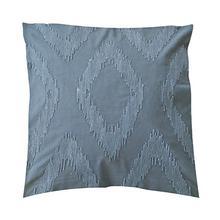 "(LS) Cadence Tonal Diamond Square Pillow (22"" x 22"") - Oatmeal"