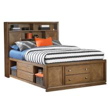 Meramac Library Bed, Queen