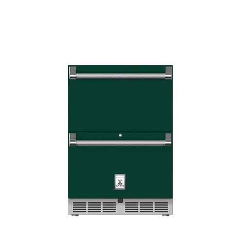 "Hestan - 24"" Hestan Outdoor Refrigerator Drawers - GRR Series - Grove"