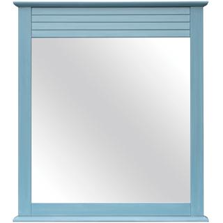 Beachfront Blue Mirror