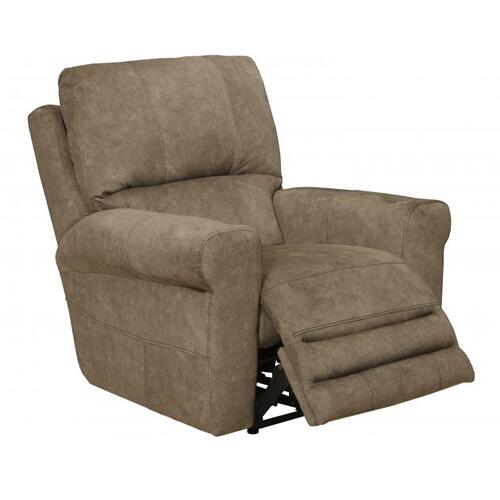Voice Power Headrest/Lumbar Power Lay Flat Recliner