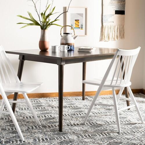 Tia Rectangle Dining Table - Ash Brown