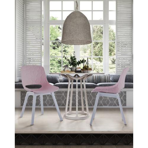 Tov Furniture - Jayden Pink Chair (Set of 2)
