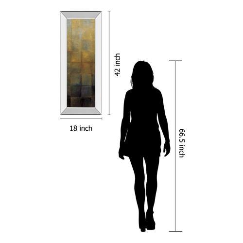 """Modra Il"" By Pasion Mirror Framed Print Wall Art"