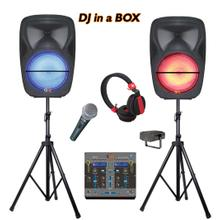 Party Speakers With Mixer