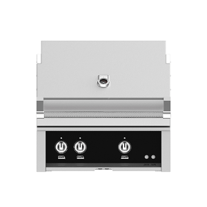 "30"" Hestan Outdoor Built-In Grill - G_BR Series - Stealth"