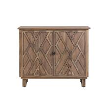 Hawthorne Estate Chippendale Fretwork Cabinet