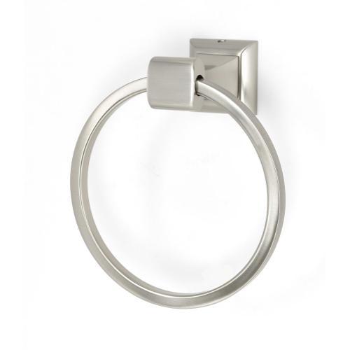 Manhattan Towel Ring A7440 - Satin Nickel