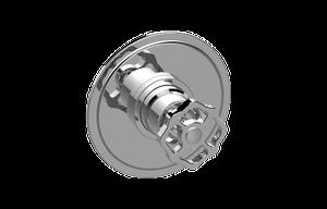 Vintage Pressure Balancing Valve Trim with Handle Product Image