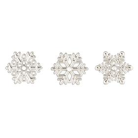 Triple Snowflake Prayer Box & Charms (24 pc. ppk.)