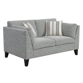 Emerald Home Elsbury Loveseat, Gray