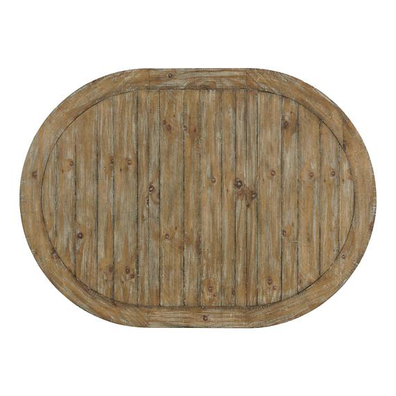 Riverside - Sonora - Round Dining Table Top - Snowy Desert Finish