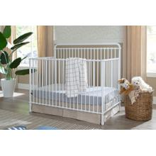 View Product - Washed White Winston 4-in-1 Convertible Crib -