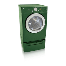 XL Capacity Gas Dryer (Emerald Green)
