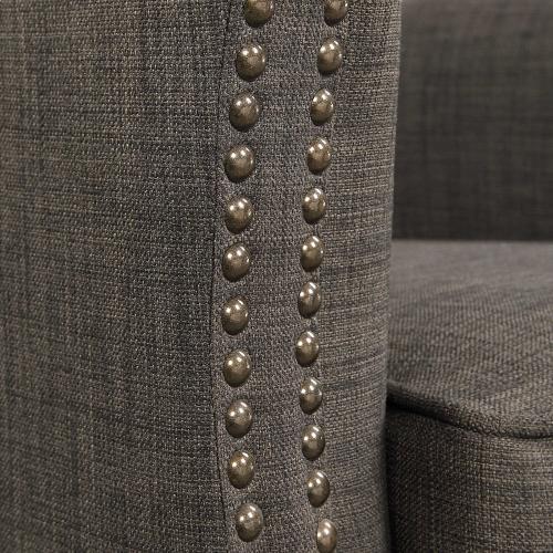 Uttermost - Darick Armchair, Charcoal
