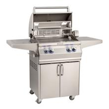 Aurora A430s Portable Grill with Single Side Burner