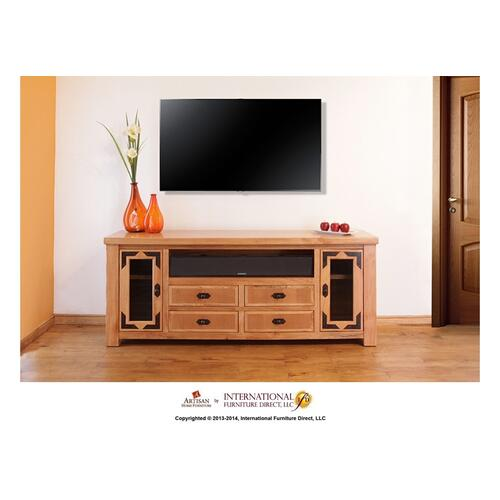 "Artisan Home Furniture - 76"" TV Stand"