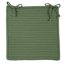 "Simply Home Chair Pad H123 Moss Green 15"" X 15"" (Set 4)"