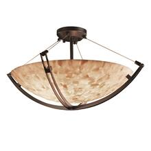 "60"" Semi-Flush Bowl w/ Crossbar"