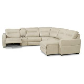 Monet Power Reclining Sectional with Power Headrests
