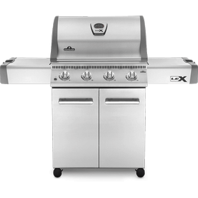 LEX 485 Gas Grill , Stainless Steel , Propane