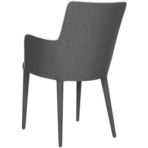 Summerset Arm Chair - Grey / White