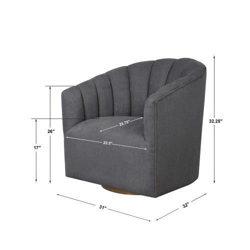 Cuthbert Swivel Chair
