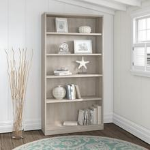 Universal Bookcases 5 Shelf Bookcase - Washed Gray
