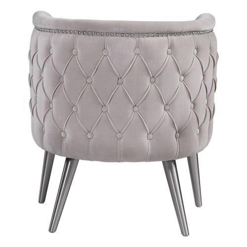 Uttermost - Haider Accent Chair, Champagne
