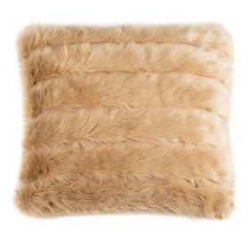 Genevra Fur Pillow - Brown