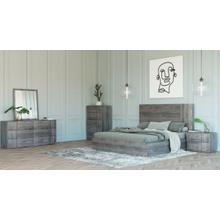 Nova Domus Asus - Italian Modern Elm Grey Bedroom Set