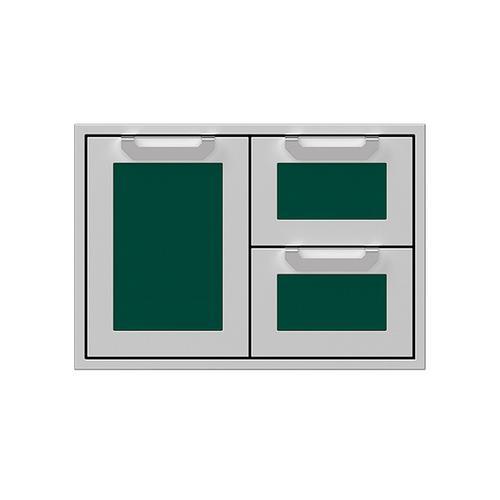 """Hestan - 30"""" Hestan Outdoor Combo Door/Drawer - AGSDR Series - Grove"""