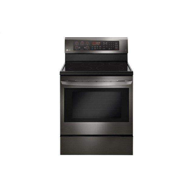 LG Appliances 6.3 cu. ft. Electric Single Oven Range with True Convection and EasyClean®