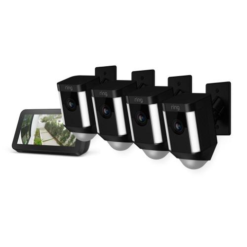 4-Pack Spotlight Cam Mount with Echo Show 5 - White