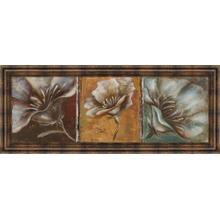 """The Three Poppies I"" By Patricia Pinto Framed Print Wall Art"
