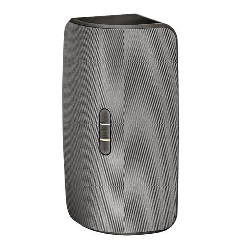 Compact Wireless Multi Room Rechargeable Speaker in Black / Dark Grey