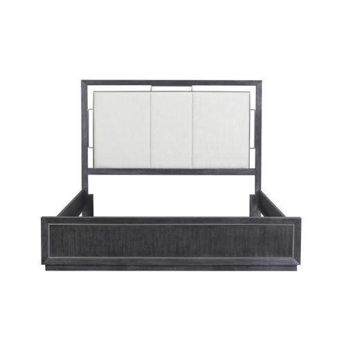 Pulaski Furniture - Echo Queen Footboard & Slats in Charcoal