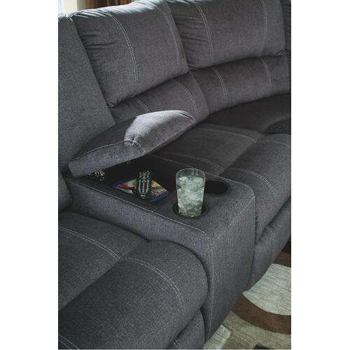 Urbino 3-piece Reclining Sectional