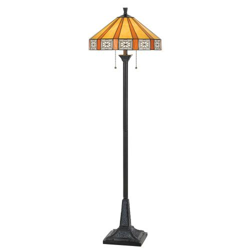 60W X 2 Tiffany Floor Lamp