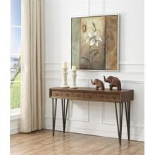 2 Drw Console Table