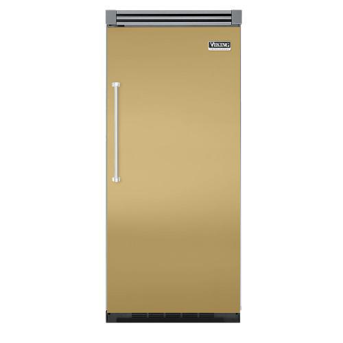 """Viking - Golden Mist 36"""" Quiet Cool™ All Refrigerator - VIRB Tru-Flush™ (Right Hinge Door)"""