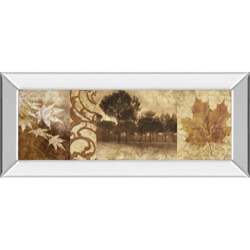 """Classy Art - """"Equinox I"""" By Keith Mallet Mirror Framed Print Wall Art"""