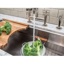 """See Details - 45"""" Stainless Steel Kitchen Sink with Standard Accessories"""