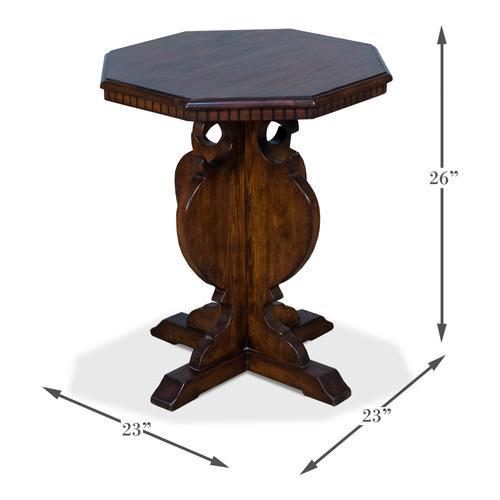 Brogan Side Table/Brown