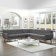 See Details - Engage L-Shaped Sectional Sofa in Gray
