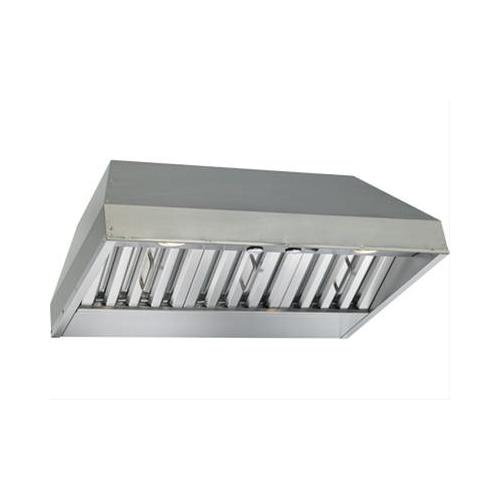 "BEST Range Hoods - 28-3/8"" Stainless Steel Built-In Range Hood with 290 Max CFM Internal Blower"