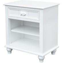 See Details - Fishtails Shelf Nightstand