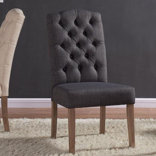 Lucian Side Chair, set of 2 in Grey