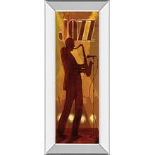 """Hot Jazz"" By Conrad Knutsen Mirror Framed Print Wall Art"