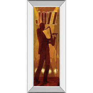 """""""Hot Jazz"""" By Conrad Knutsen Mirror Framed Print Wall Art"""